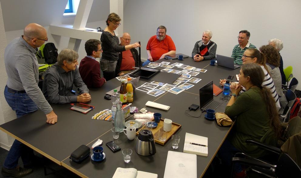 Workshop zur Fotobuch-Gestaltung 2019 (Foto: Eckhardt Schön)