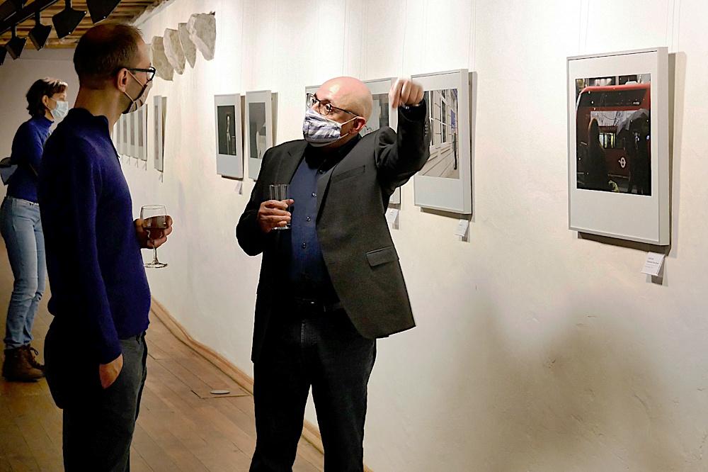 Ausstellungseröffnung Uli Seehagen (Foto: Paul Jonca)